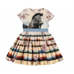 MOLO CANDY JUMPING HORSE DRESS