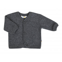JOHA MERINO WOOL CARDIGAN GREY