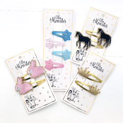 SET - GLITTER ANIMAL 10 Pcs