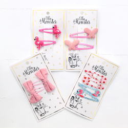 SET - PINK FLAMINGO 10 pcs