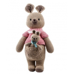 CROCHET KANGAROO WITH SWEATER